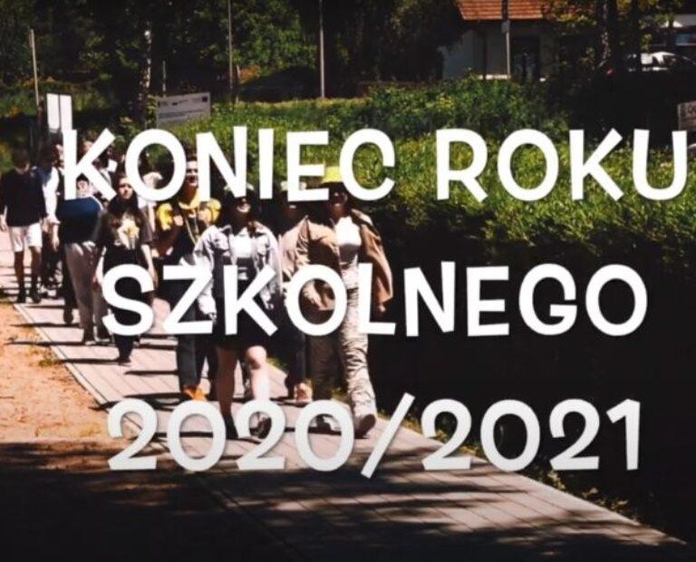 Prezentacja z okazji zakończenia Roku Szkolnego 2020/2021