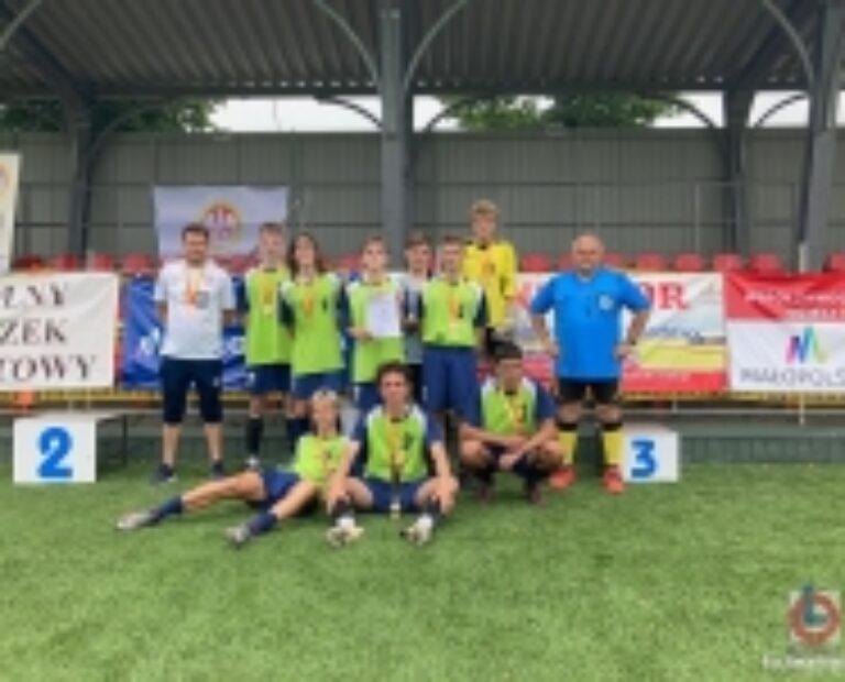 """III miejsce w Finale Małopolskiej Licealiady Młodzieży w """"6""""-kach piłkarskich!!!"""
